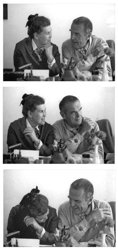 Charles and Ray Eames                                                       … …