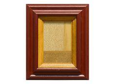 Frame No.154 -Wine Red-