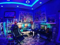 Best Trending Gaming Setup Ideas - Home Decor Ideas Gaming Computer Setup, Simple Computer Desk, Best Gaming Setup, Best Gaming Laptop, Gaming Room Setup, Gaming Rooms, Gaming Pcs, Computer Technology, Watercooling Pc