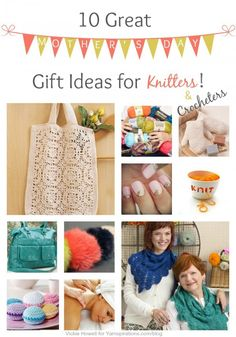 10 Great Mother's Day Gift Ideas for Knitters and Crocheters on the @Yarnspirations blog!