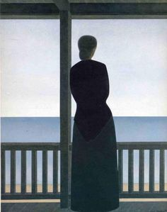 Will Barnet, Woman By The Sea, 1973
