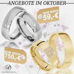 🔥 DIE TOP ANGEBOTE IM OKTOBER 🔥 ▫Partnerringe E002 aus Edelstahl  ▫nur noch 59€/Paar ➡ https://www.traumtrauringe.de/asf-trauringe-partnerringe-e002-edelstahl-2479 ▫Trauringe Heilbronn aus 333er Gelbgold mit 16 Brillanten ▫nur noch 750€/Paar ➡ https://www.traumtrauringe.de/trauringe-heilbronn-333er-gelbgold-7262 ▫inkl. Gravur▫inkl. Ring-Etui ▫inkl. Versand ▫Nur bis zum 31.10.16