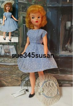 Vintage Tammy Doll Ideal Reliable Canada Blonde Doll Dual Citizenship RARE 1964 | eBay