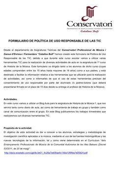1.1. Política de Uso Responsable