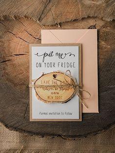 Magnet save the date #savethedate #weddingideas