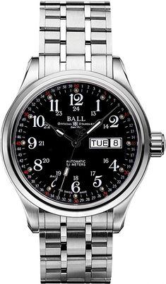 Ball Watch | Trainmaster 60 Seconds - Model NM1058D-S3J-BK