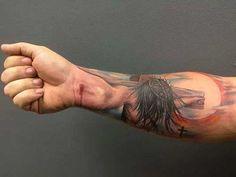 tatuagem de Jesus Cristo