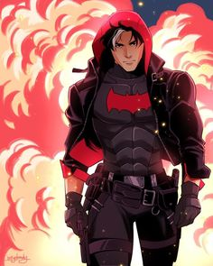 Jason Todd: Robin, Arkham Knight, Red Hood Appreciation 2018 - Page 1008 Batwoman, Nightwing, Batgirl, Dc Universe, Batman Universe, Batman Comic Art, Batman Robin, Gotham Batman, Arkham Knight