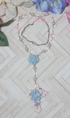 Bouquet Cross n.002 by BlueberrySodaShop on Etsy