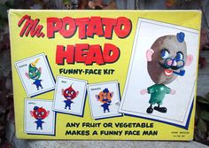 Mr. Potato Head: When we used REAL potatoes!