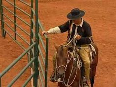 Opening and Closing Gates with horse trainer Pat Hooks - YouTube