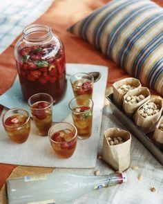 Strawberry-Basil Iced Tea Recipe