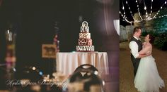 Wedding photography- St. Louis Animal print wedding cake. St. Louis zoo wedding.