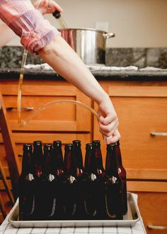 When I first started brewing beer at home, I was a five-gallon girl & much like most new homebrewers. But there were drawbacks almost immediately. Beer Brewing Kits, Brewing Recipes, Homebrew Recipes, Beer Recipes, Coffee Recipes, Alcohol Recipes, Brewing Company, Ginger Ale, Hopsin