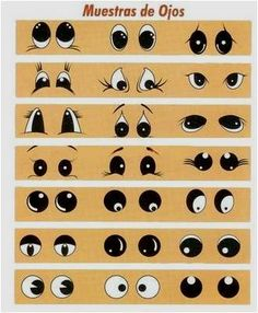 how to paint eyes.