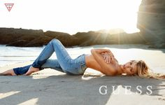 guess spring summer 2014 campaign61 Samantha Hoopes, Danielle Knudson + Olivia Greenfield Star in Guess Spring/Summer 2014 Campaign