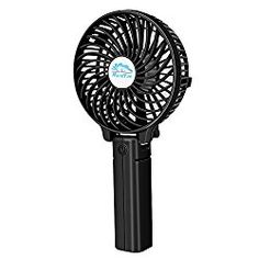 Mini Handheld Fan, VersionTech Foldable Personal Portable Desk Desktop Table Cooling Fan with USB Rechargeable Battery Operated Electric Fan for Office Room Outdoor Household Speed, Black) - Personal Gear Products Search Usb Gadgets, Gadgets And Gizmos, Home Gadgets, Small Portable Fan, Portable Desk, Portable Battery, Bathroom Gadgets, Personal Fan, Travel Office