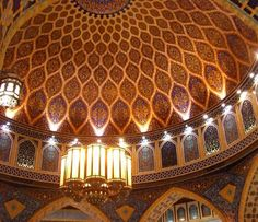 The beauty of a Moroccan ceiling!