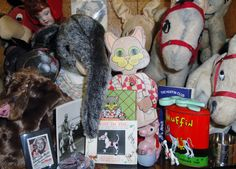 Various including CELESTE by Farnell. PRUDENCE KITTEN by Chad Valley. MUFFIN THE MULE by Chiltern and Farnell.