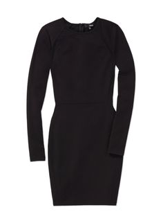 WILFRED FREE IMAN DRESS - Streamlined, tailored stretch with architectural mesh panels
