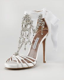 bridal shoes- lovely but the heel is a bit much for over 8 hours on your feet!