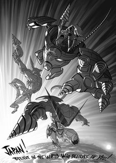 bryankonietzko: After the tragic events of the 2011 Tōhoku earthquake and tsunami, Gainax studios put together a Gurren Lagann charity book featuring fan art from people in the animation industry. Our old buddy Bobby Rubio (who was a storyboard artist on Avatar, and who now works as a story artist at Pixar) worked on behalf of Gainax to enlist a group of U.S. artists to contribute to the book, many of whom were also Avatar alumni. It was an honor to pitch in with all of these talented…