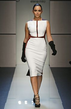 Elena Mirò Autumn/Winter Collection dress #plussize