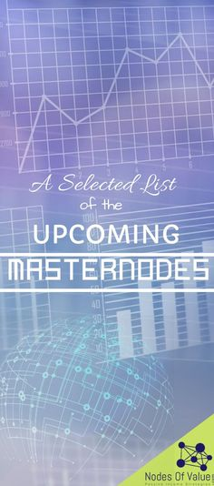 Get the selected list of the upcoming masternodes which will help you to create a business ecosystem. Security Token, Crypto Mining, Investment Advice, Creating A Business, Crypto Currencies, The Real World, Passive Income, Blockchain, Cryptocurrency