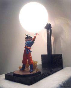 dragon Ball Z Lamp custom