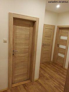 CPL interierove dvere Oak Interior Doors, Door Design Interior, Oak Doors, Custom Wood Doors, Old Wooden Doors, Modern Windows And Doors, Flush Door Design, House Outside Design, Doors And Floors