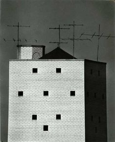 André Kertész – New York water tower