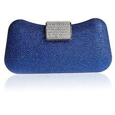 Fineplus New Brand Girls Bridal Bag Luxury Sequins Wedding Evening Bag Handbag Royal Blue ** You can find more details by visiting the image link.