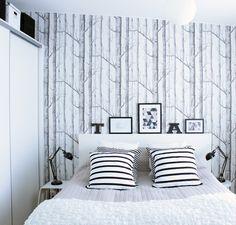 She's got herself a little piece of heaven: bedroom