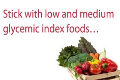 Glycemic index diets can help to control blood sugar levels