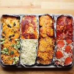Potato Bake Side Meal Prep Recipe by Tasty (substitute smoked turkey bacon and turkey pepperoni) Breakfast Cups, Potato Casserole, Potato Recipes, Potato Meals, Baking Recipes, Quick Recipes, Food Videos, Food And Drink, Lunch Snacks