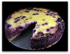 Blueberry Sour Cream Tart.  This is SO good, tastes like cheesecake, but is (somewhat) healthier.  Great use of the (obviously not-local) cheap blueberries that will only be good for a day from the farmer's market!