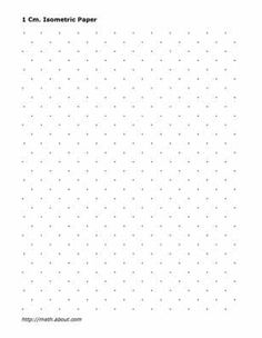 This LetterSized Hypometric Graph Paper Features Both Isometric