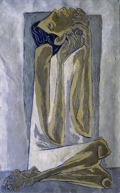 Niño llorando by Oswaldo Guayasamin