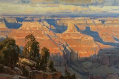 Canyon Light 20x30 inches, oil by Scott Christensen