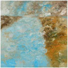 Title: Der Fluss Created: 27-4-15 Media: oil on canvas size: 150 x 150 cm