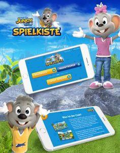 Eine Spiele-App für den Europa-Park. Programmiert von der Agentur Elements of Art.