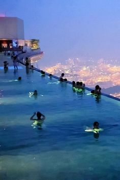 Marina Bay Sands Sky Park in Singapore.