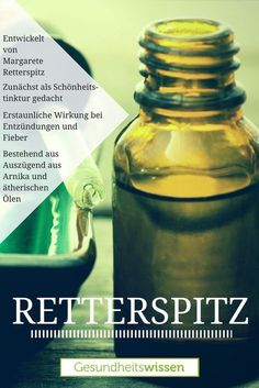 Today, Retterspitz is hardly known anymore. It is after Aspirin the oldest natural healing preparati Health Heal, Health Diet, Health And Wellness, Health Fitness, Healing Herbs, Natural Healing, Holy Body, Homemade Cosmetics, Shampoo Bar