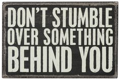 Don't Stumble Box Sign - The Second Knob Gifts & Antiques