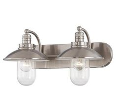 View the Minka Lavery 5132 2 Light Bathroom Vanity Light from the Downtown Edison Collection at Build.com.