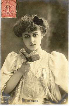 gabrielle robinne - French Actress Postcards of the Belle Epoque