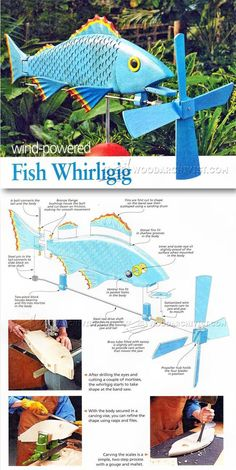 Whirligig Plans - Outdoor Plans and Projects | WoodArchivist.com