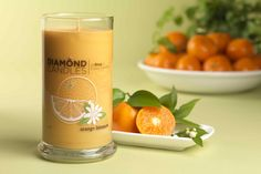 NEW Orange Blossom Ring Candle - Diamond Candles - Home Fragrance Made Fun and Hassle Free
