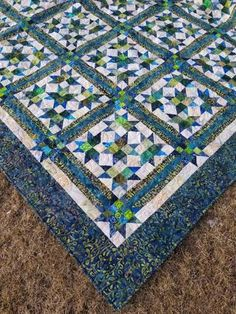 Quilt Finish: Scrap Crystals