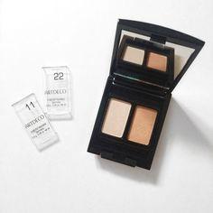 ARTDECO Beauty Box Duo holds two single Eyeshadows. http://beautyeditor.ca/2015/09/18/artdeco-makeup